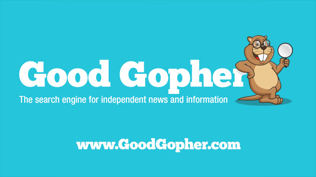 GoodGopher.com - The search engine for independent news and information